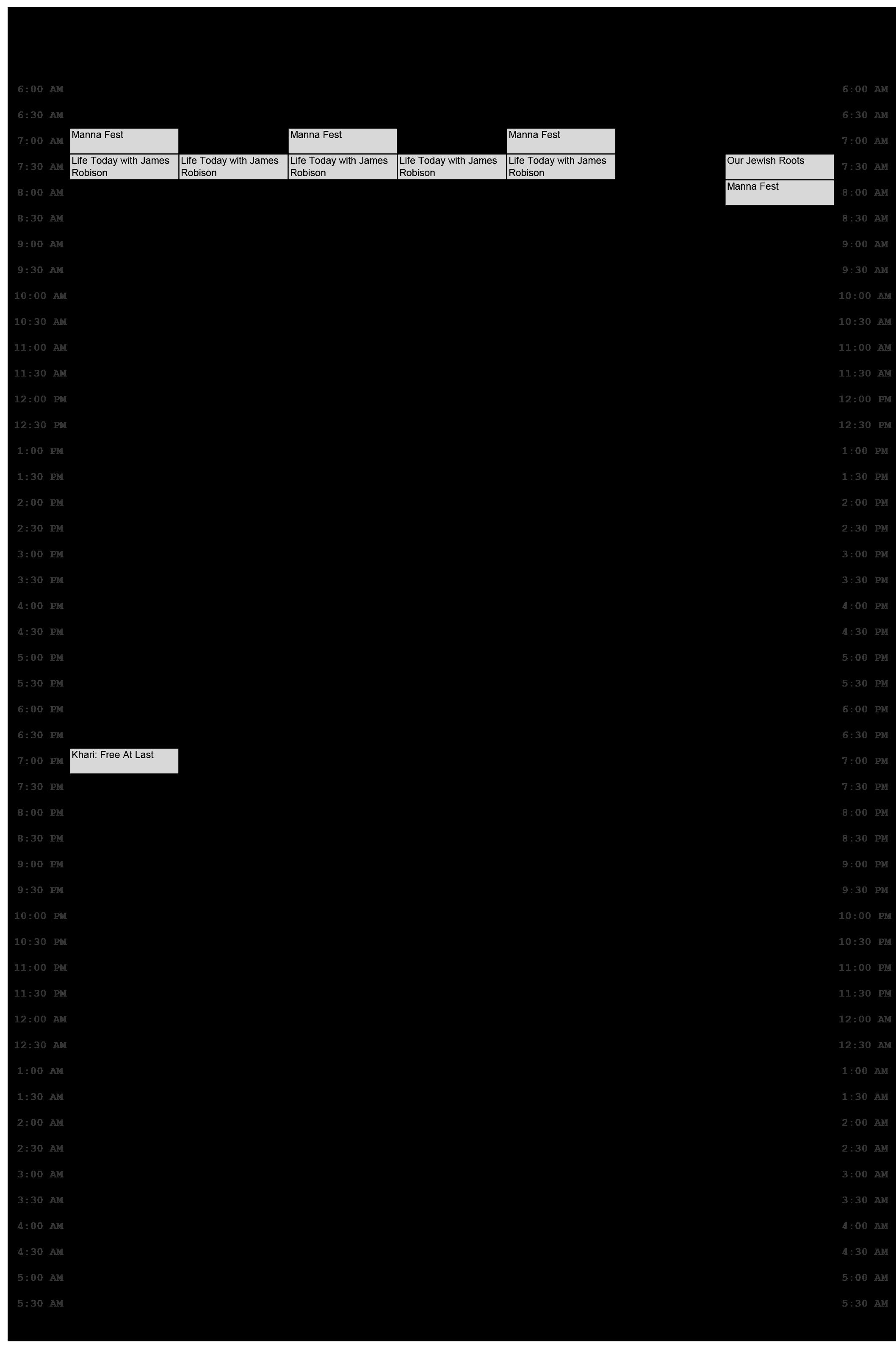 Urban One TV Schedule March